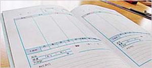 冊子版ダイエット日記のイメージ